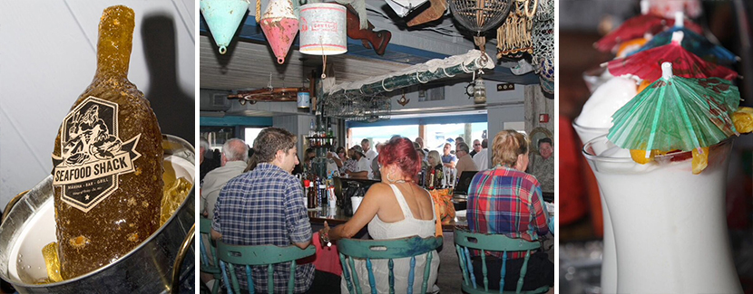 New Bar at The Seafood Shack in Cortez, Florida